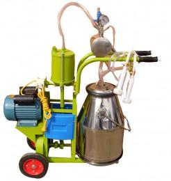 活塞式移动式手推式挤奶机